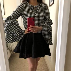 Tops - SOLD‼️ Gingham Blouse
